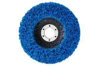 Вспененный абразив синтетический на платформе Асеса - 125 x 10 мм синий