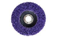 Вспененный абразив синтетический на платформе Асеса - 125 x 10 мм фиолетовый