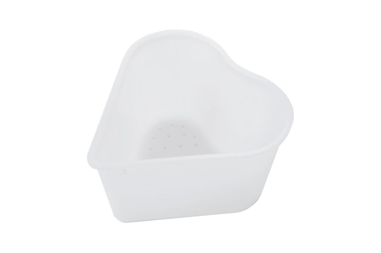 Форма для козьего сыра HozPlast - 0,35 л сердце 6шт 2