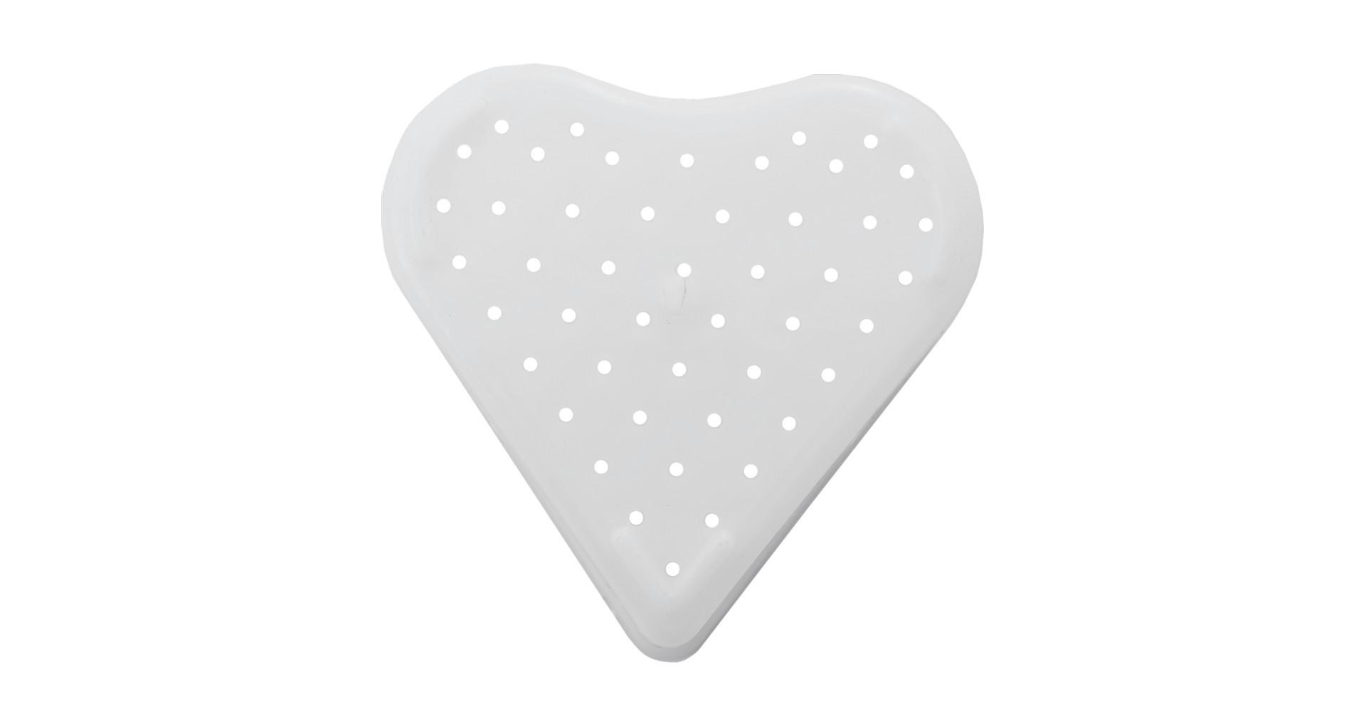 Форма для козьего сыра HozPlast - 0,35 л сердце 6шт 3