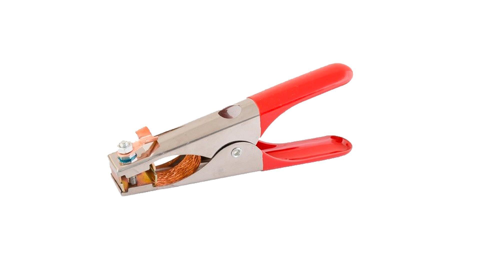 Зажим массы Mastertool - 300А Holland (резиновые ручки) 2