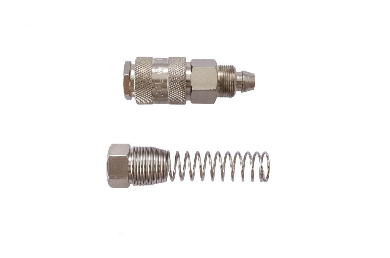 Соединение быстроразъемное с пружиной Intertool - 8 x 12 мм 2