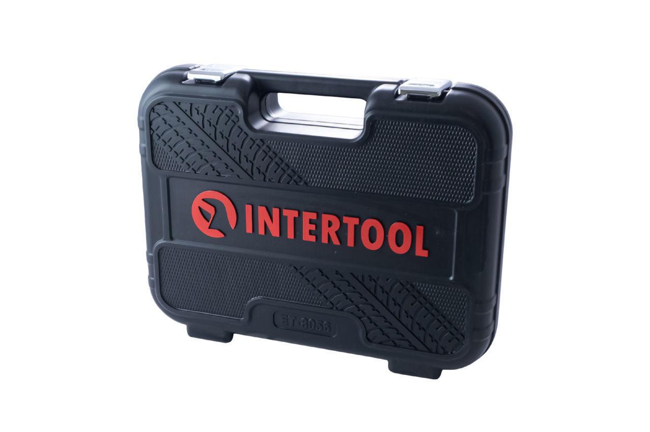 Набор инструмента Intertool - 1/2 56 ед. Storm 8