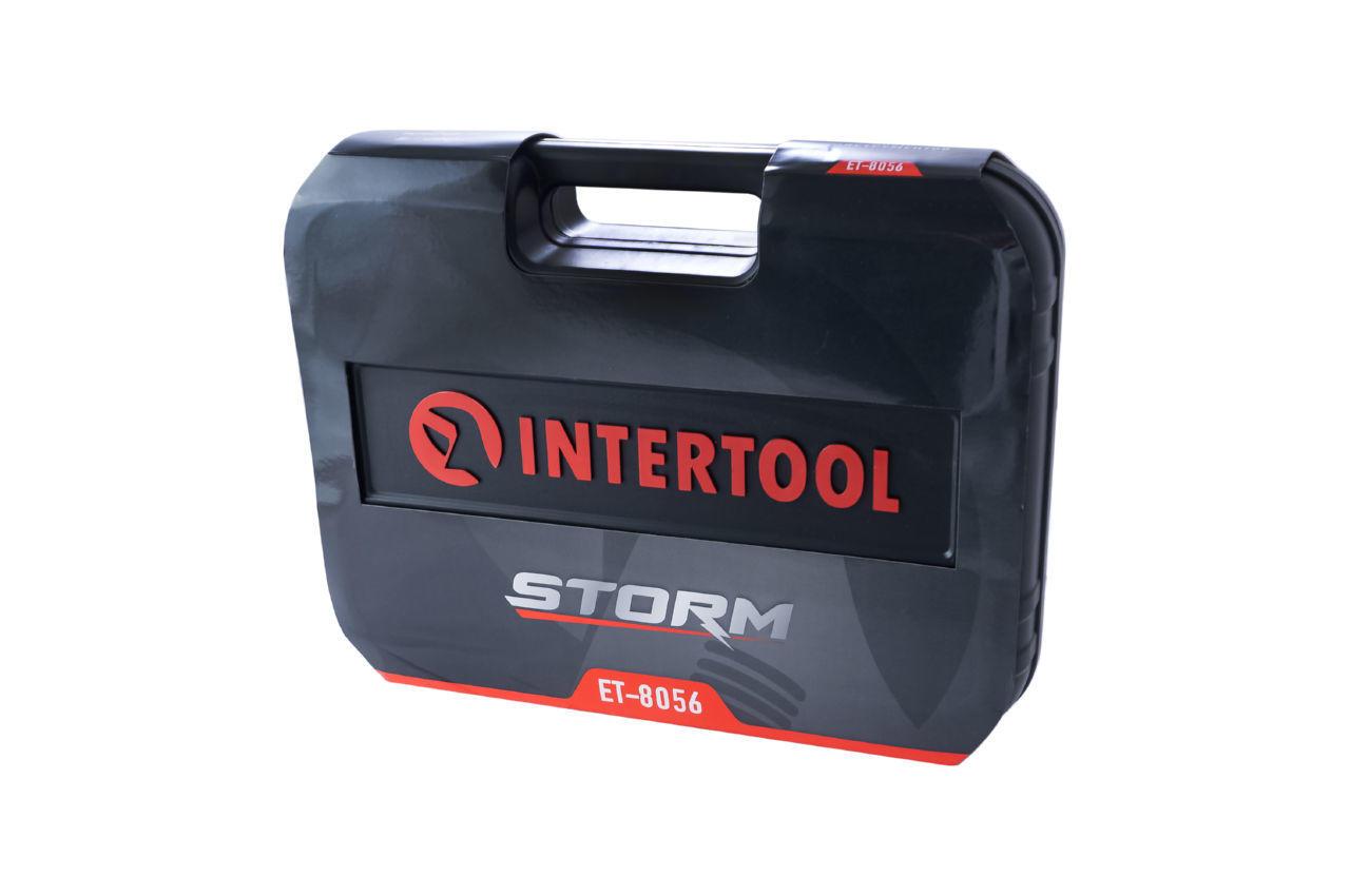 Набор инструмента Intertool - 1/2 56 ед. Storm 9