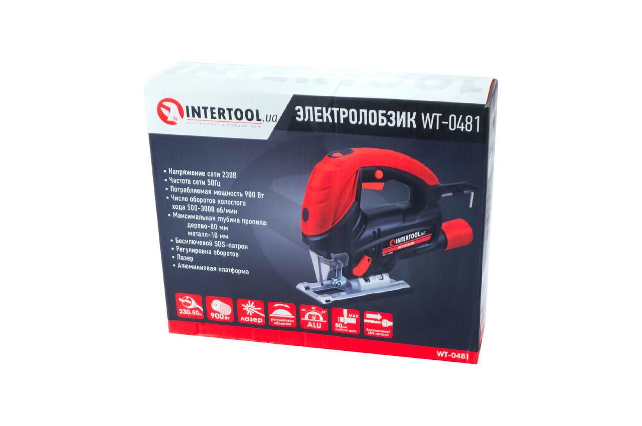 Лобзик Intertool - 900 Вт SemiPRO 4