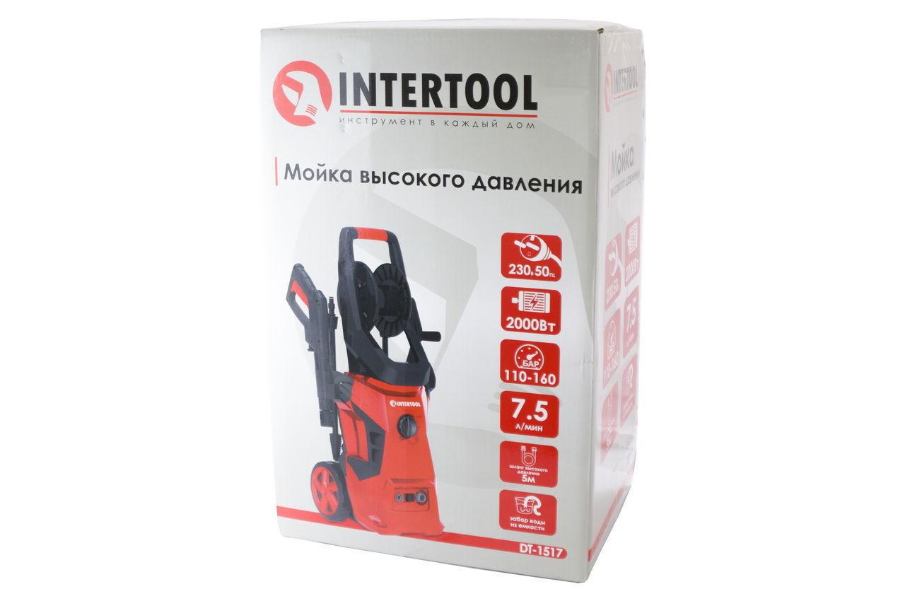 Мойка высокого давления Intertool - 7,5 л/мин x 110-160 бар 5