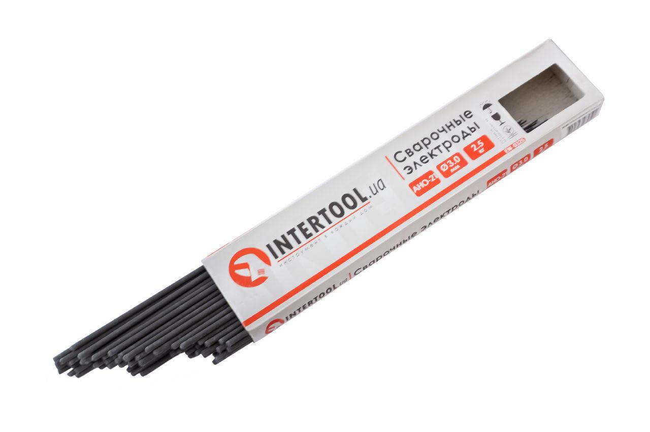 Электроды сварочные Intertool - 3 мм x 1 кг АНО-21 1
