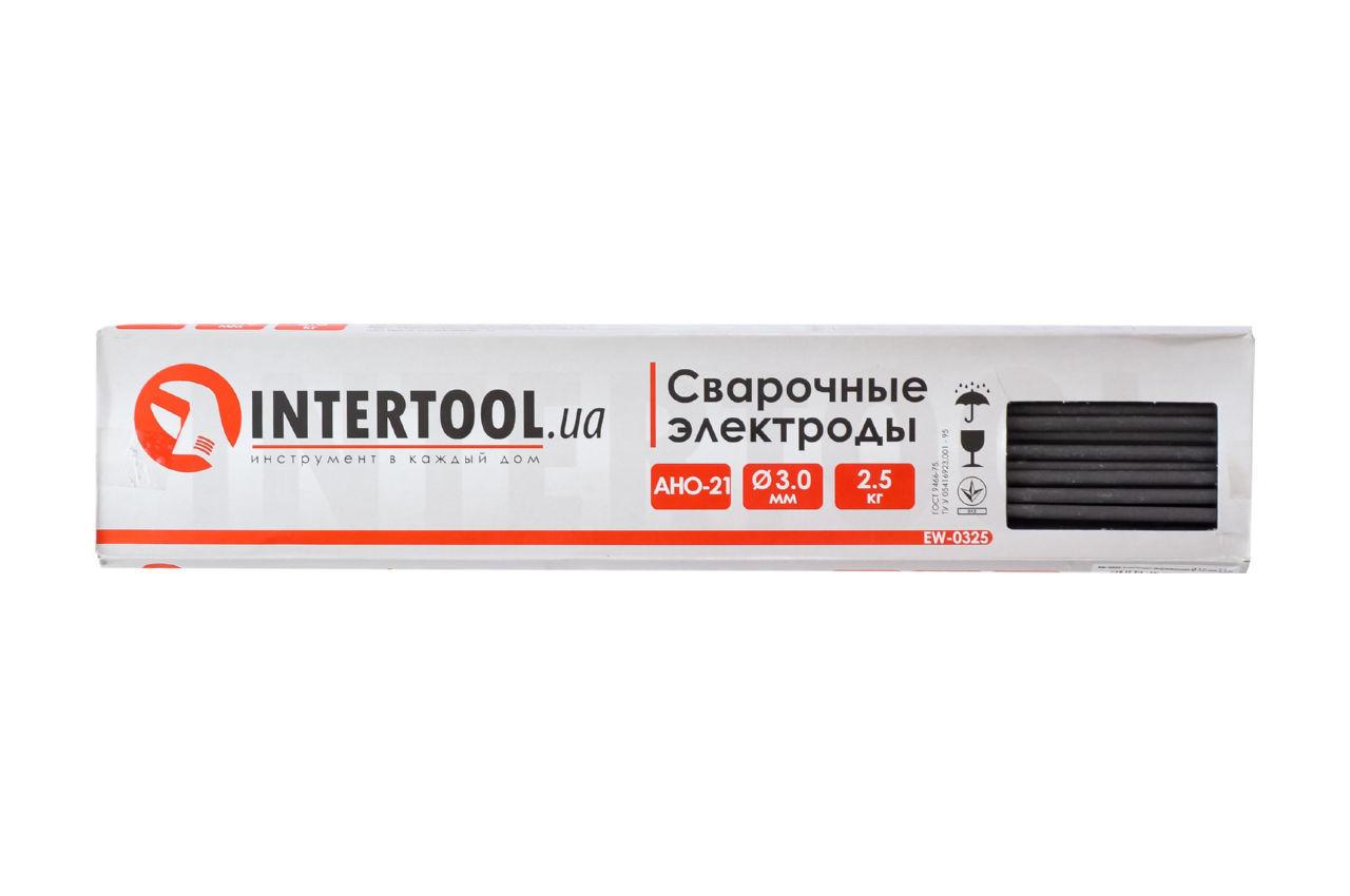 Электроды сварочные Intertool - 3 мм x 1 кг АНО-21 2