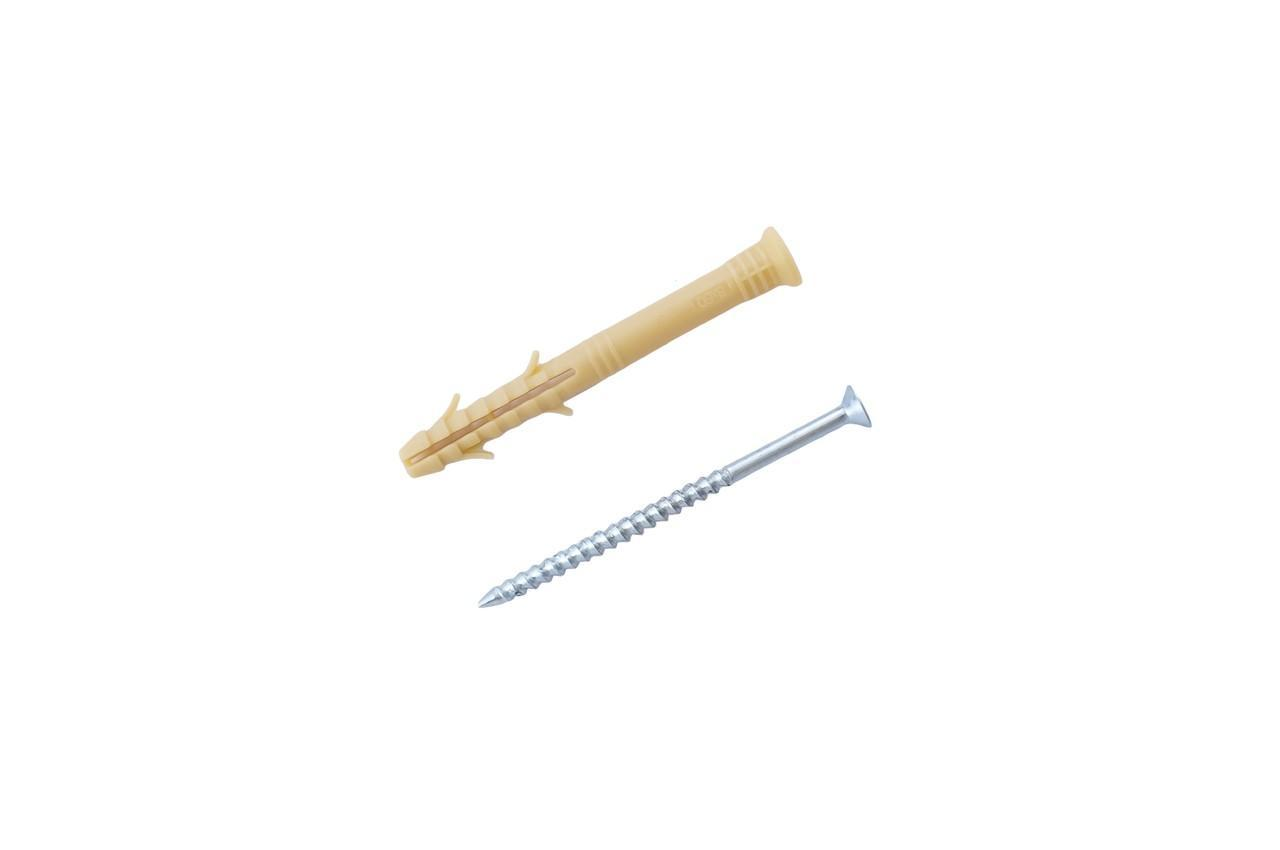 Дюбель-гвоздь Apro - 8 x 60 мм потай (100 шт.) 1