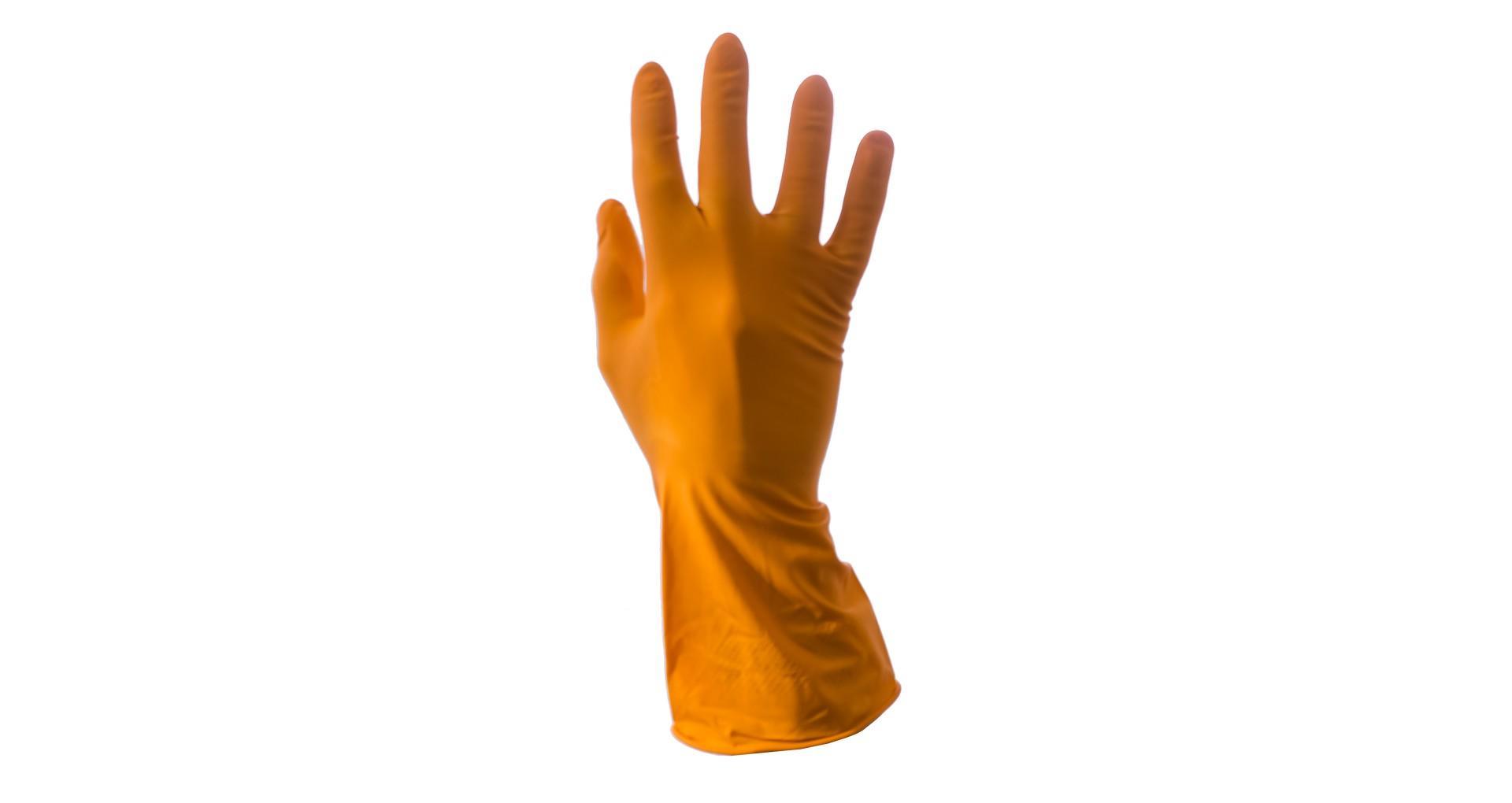 Перчатки Алиско - резиновые S 4
