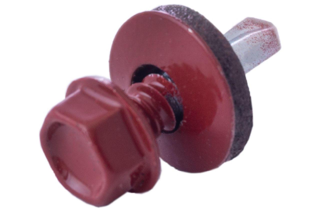 Саморез кровельный Apro - 4,8 x 19 мм RAL 3011 (50 шт.) 1