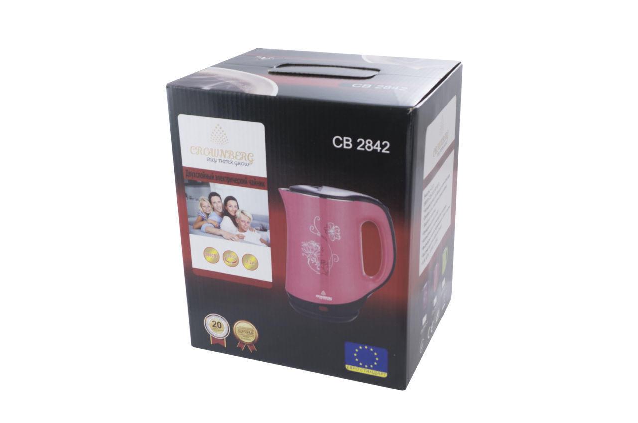 Электрочайник Crownberg - CB-2842 B 3