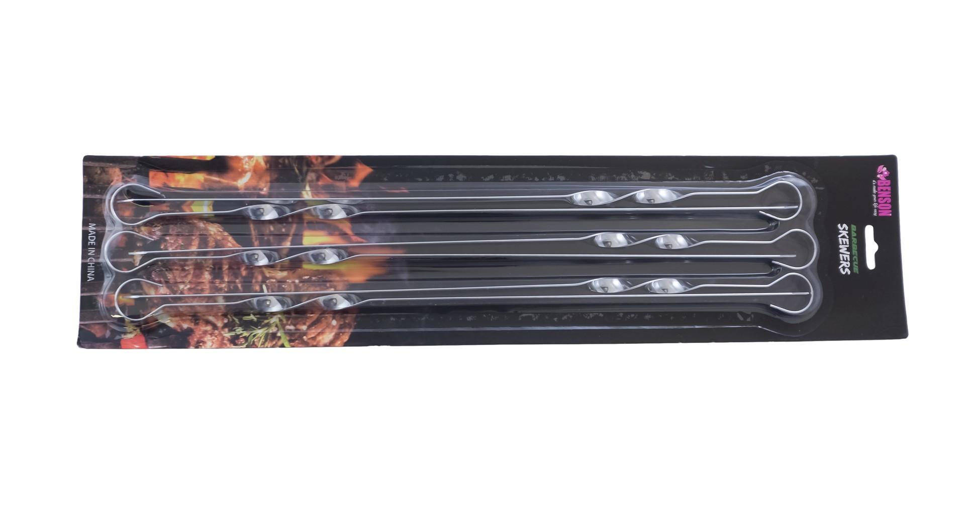 Набор шампуров PRC - Benson 600 мм (6 шт.) 2