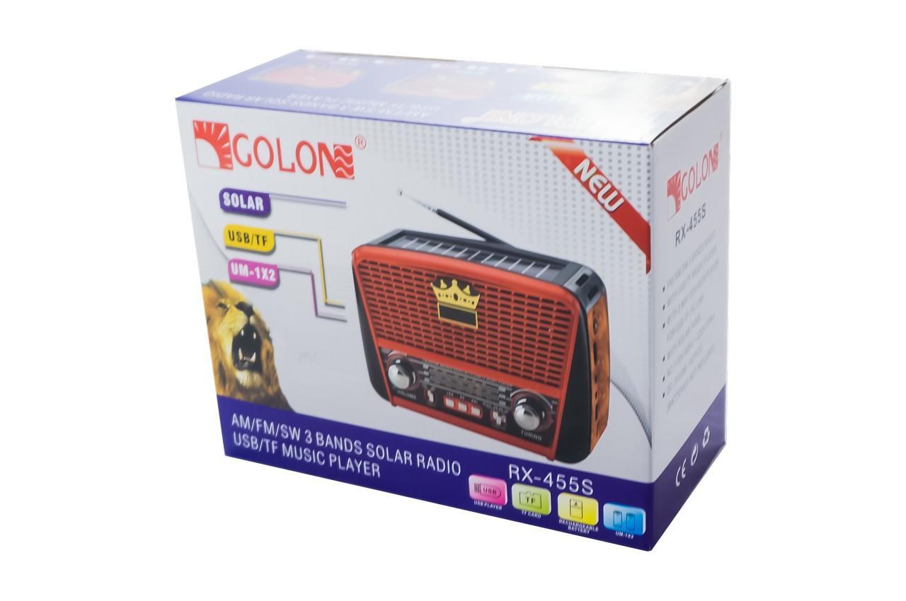 Радиоприемник Golon - RX-456 S 4