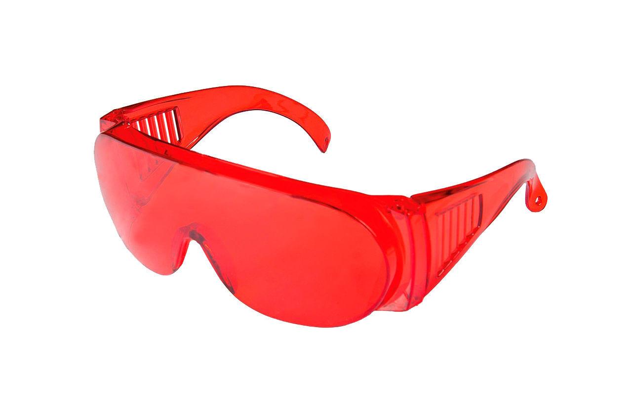 Очки защитные Mastertool - озон красные 1