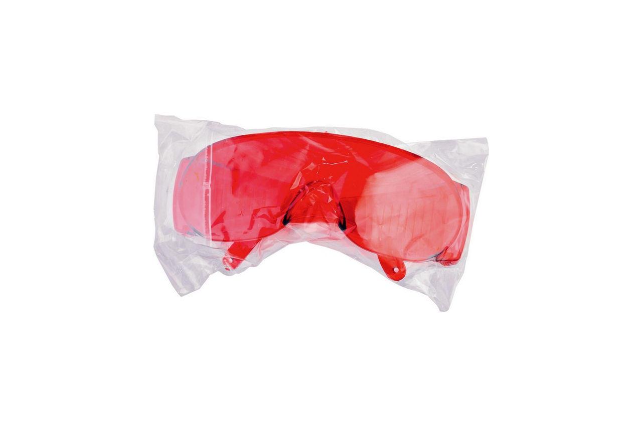 Очки защитные Mastertool - озон красные 2