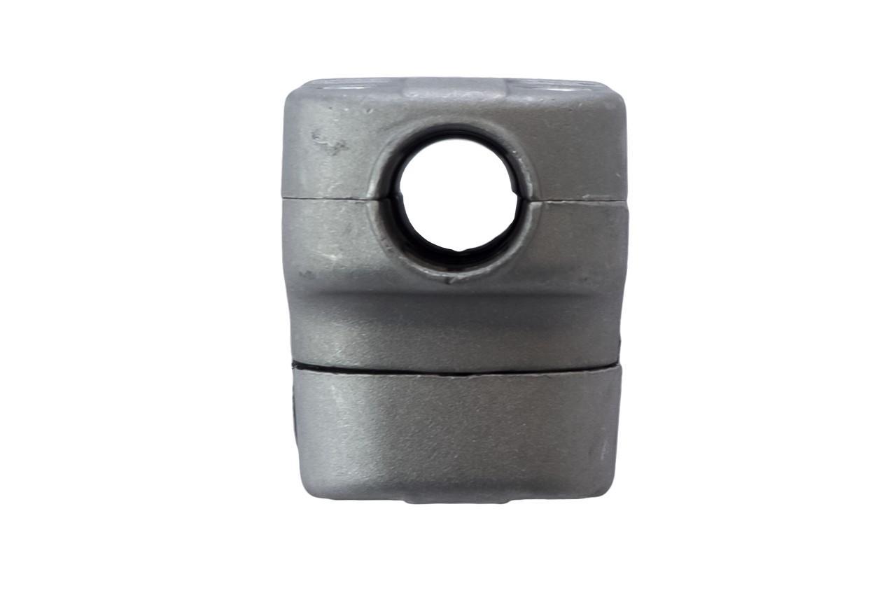 Крепление ручки Асеса алюминиевое 2 мм с резинкой 4
