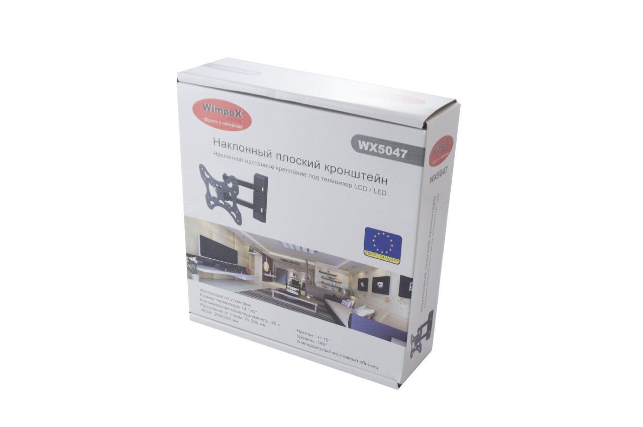 Кронштейн для телевизора Wimpex - 200 x 200 мм x 35 кг 3