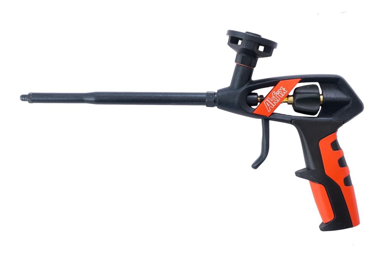 Пистолет для пены Akfix - 330 мм тефлон Pro 1