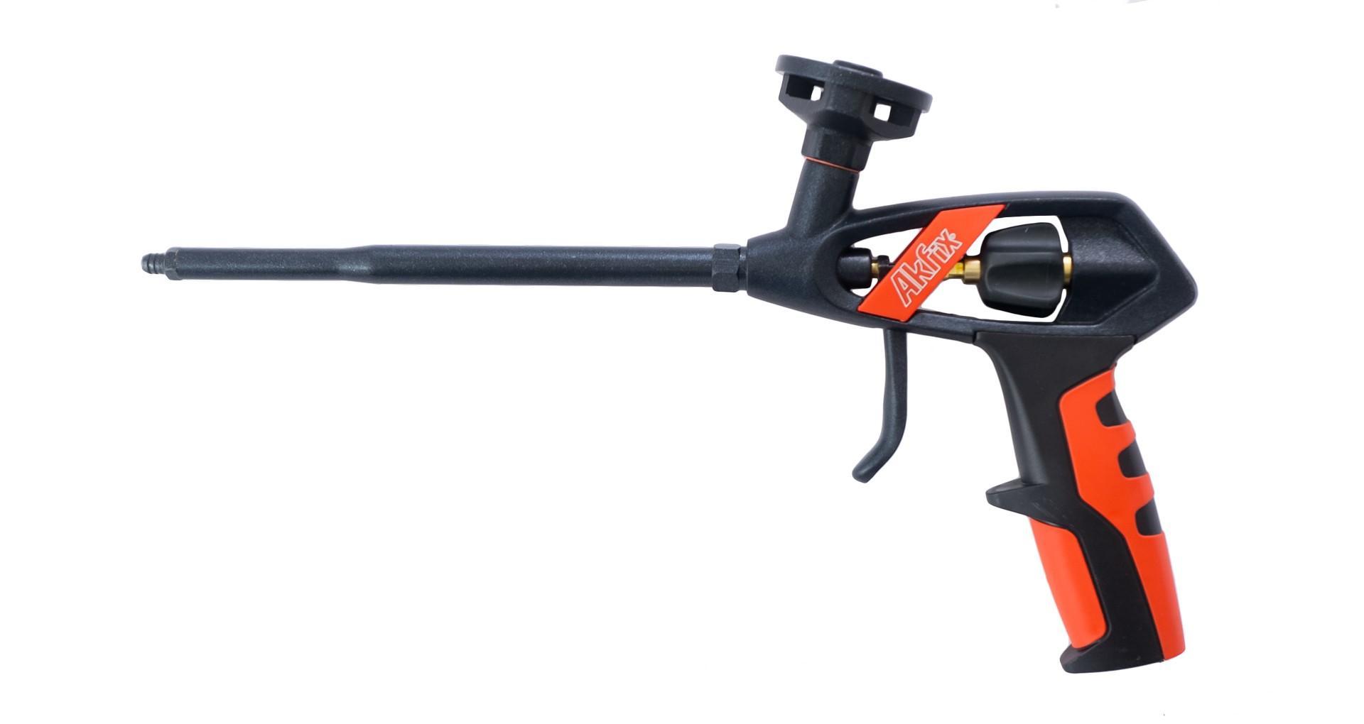Пистолет для пены Akfix - 330 мм тефлон Pro 4