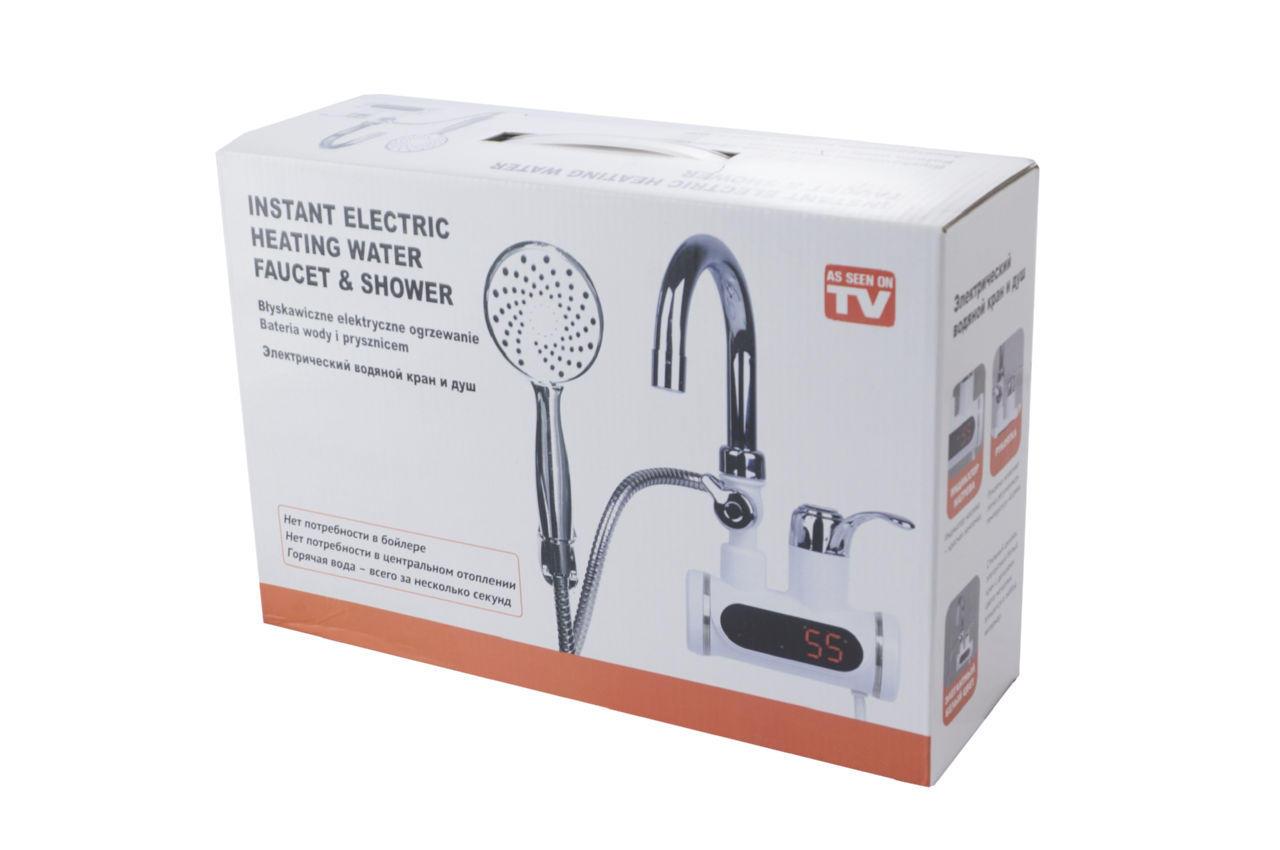 Проточный водонагреватель с душем PRC - Faucet & Shower LZ008 3