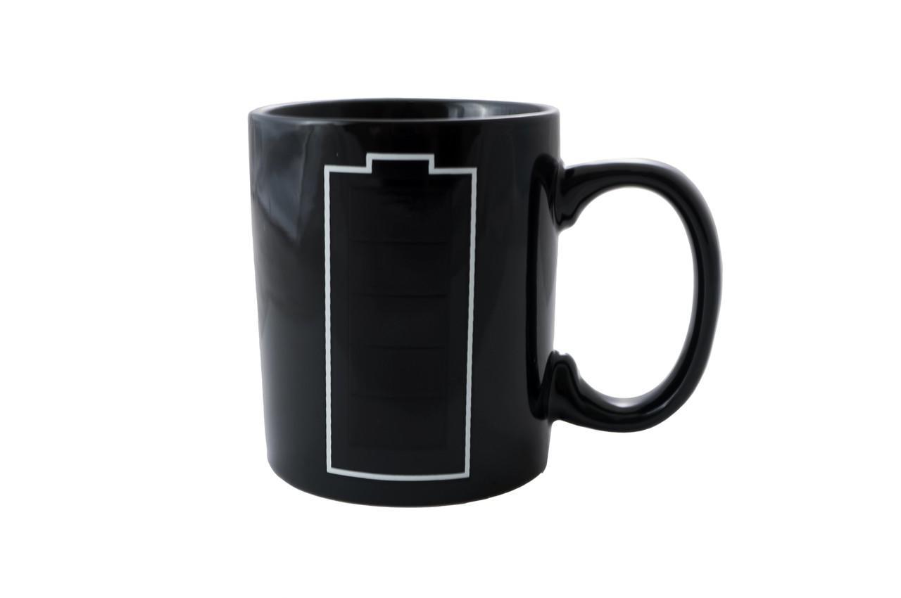 Чашка керамическая хамелеон Elite - 300 мл батарейка 1