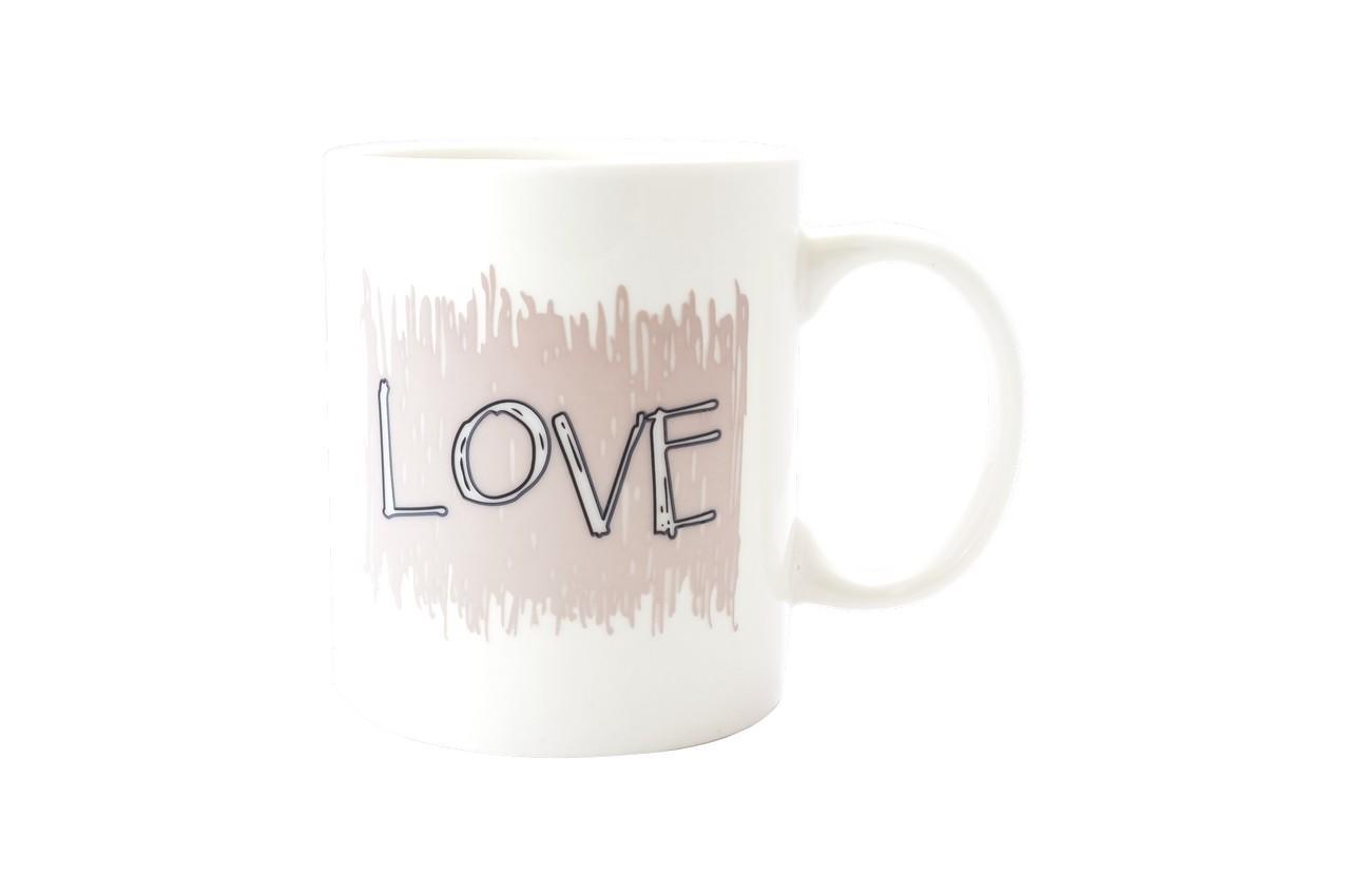 Чашка керамическая хамелеон Elite - 300 мл Love 2