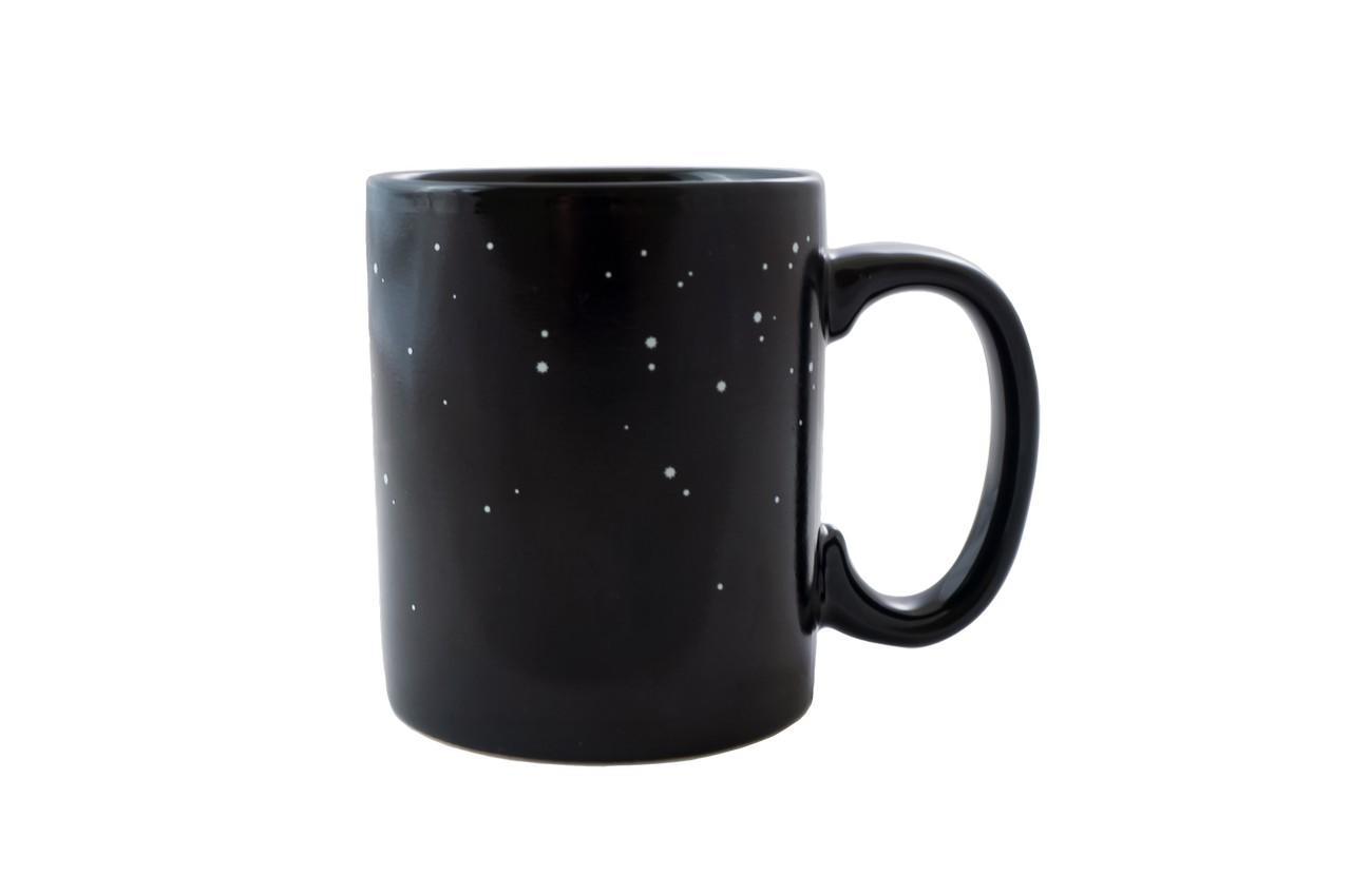 Чашка керамическая хамелеон Elite - 300 мл космос 1