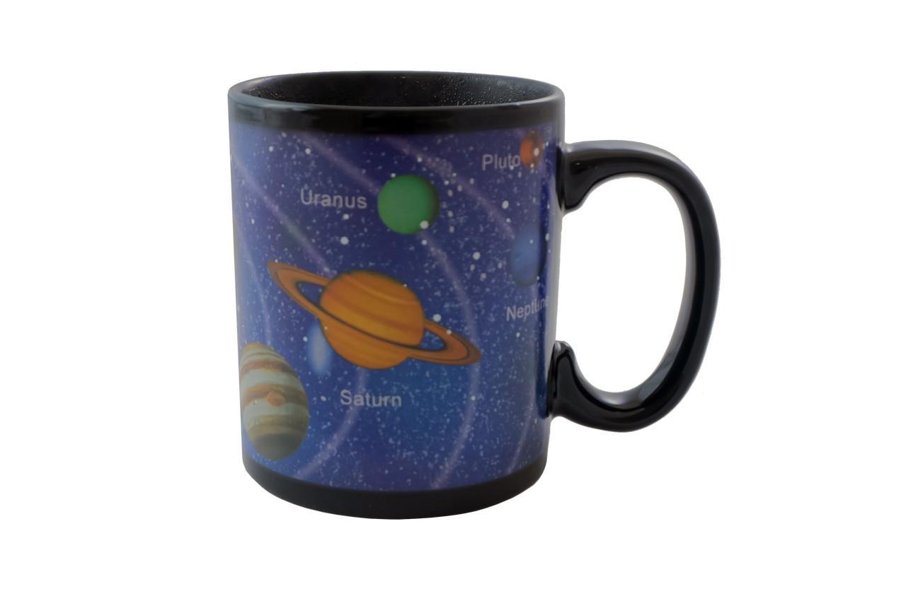Чашка керамическая хамелеон Elite - 300 мл космос 2