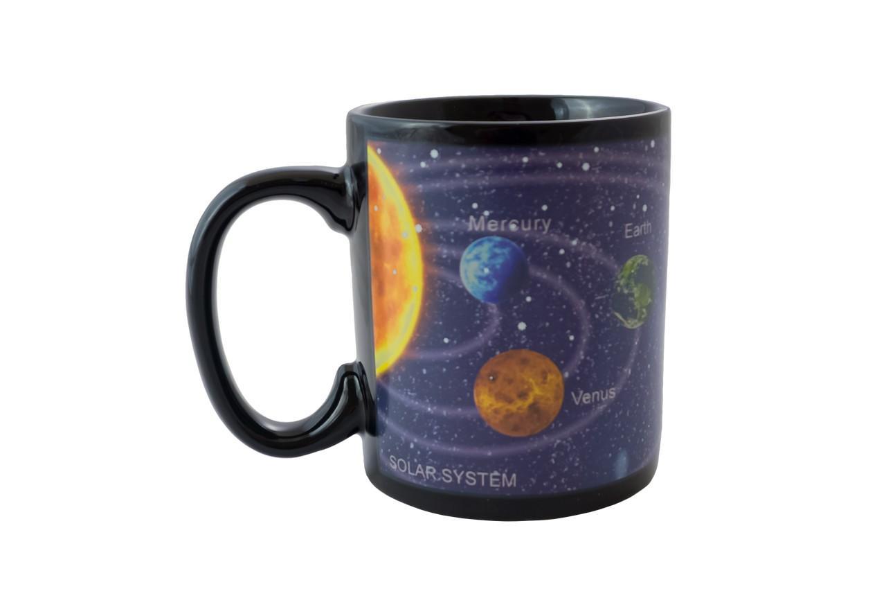 Чашка керамическая хамелеон Elite - 300 мл космос 3