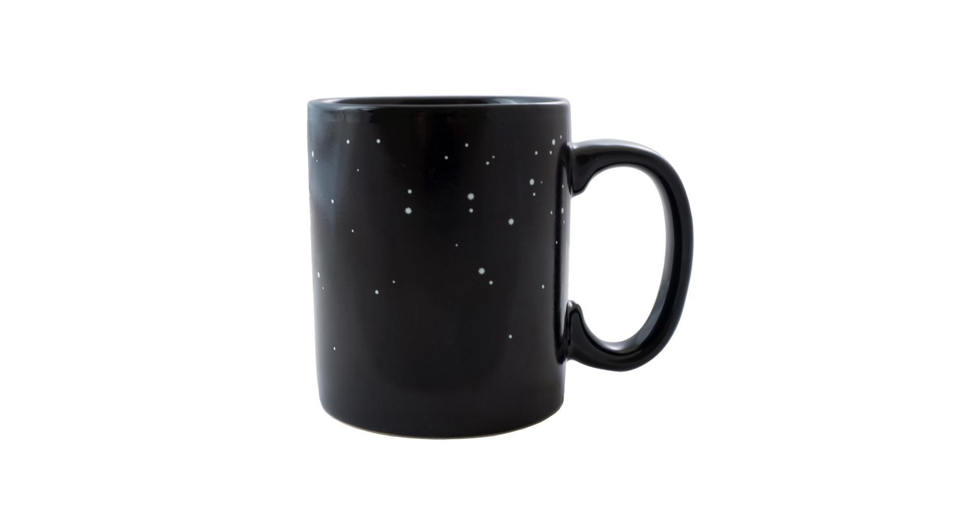 Чашка керамическая хамелеон Elite - 300 мл космос 5