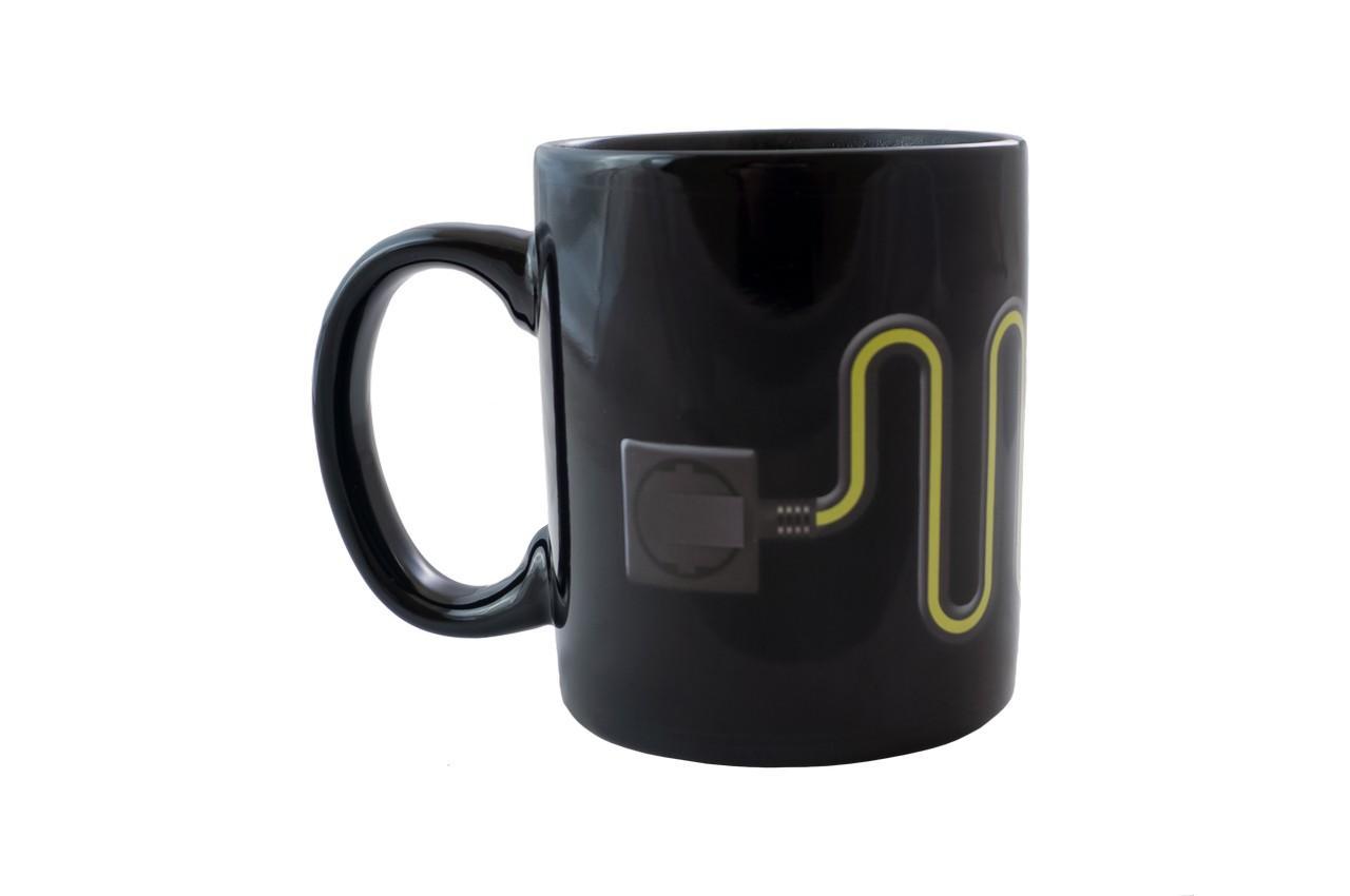 Чашка керамическая хамелеон Elite - 300 мл лампочка 3