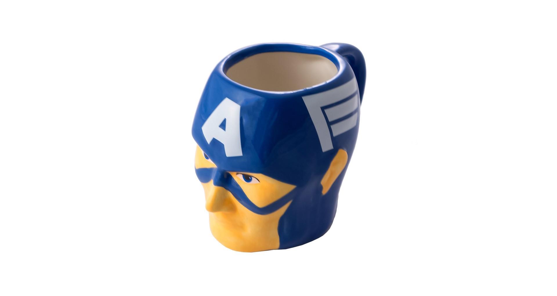 Чашка керамическая Elite - 400 мл Captain America 5
