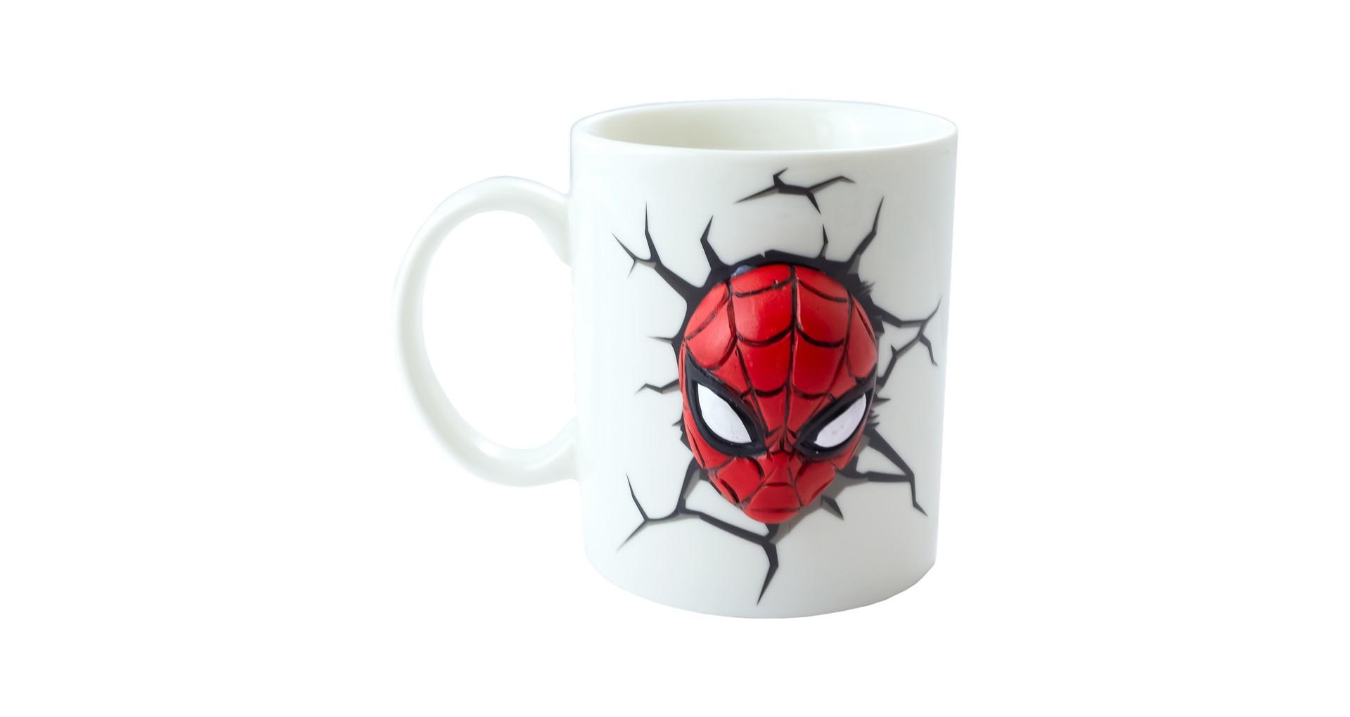 Чашка керамическая Elite - 300 мл Spider-Man 3D 4