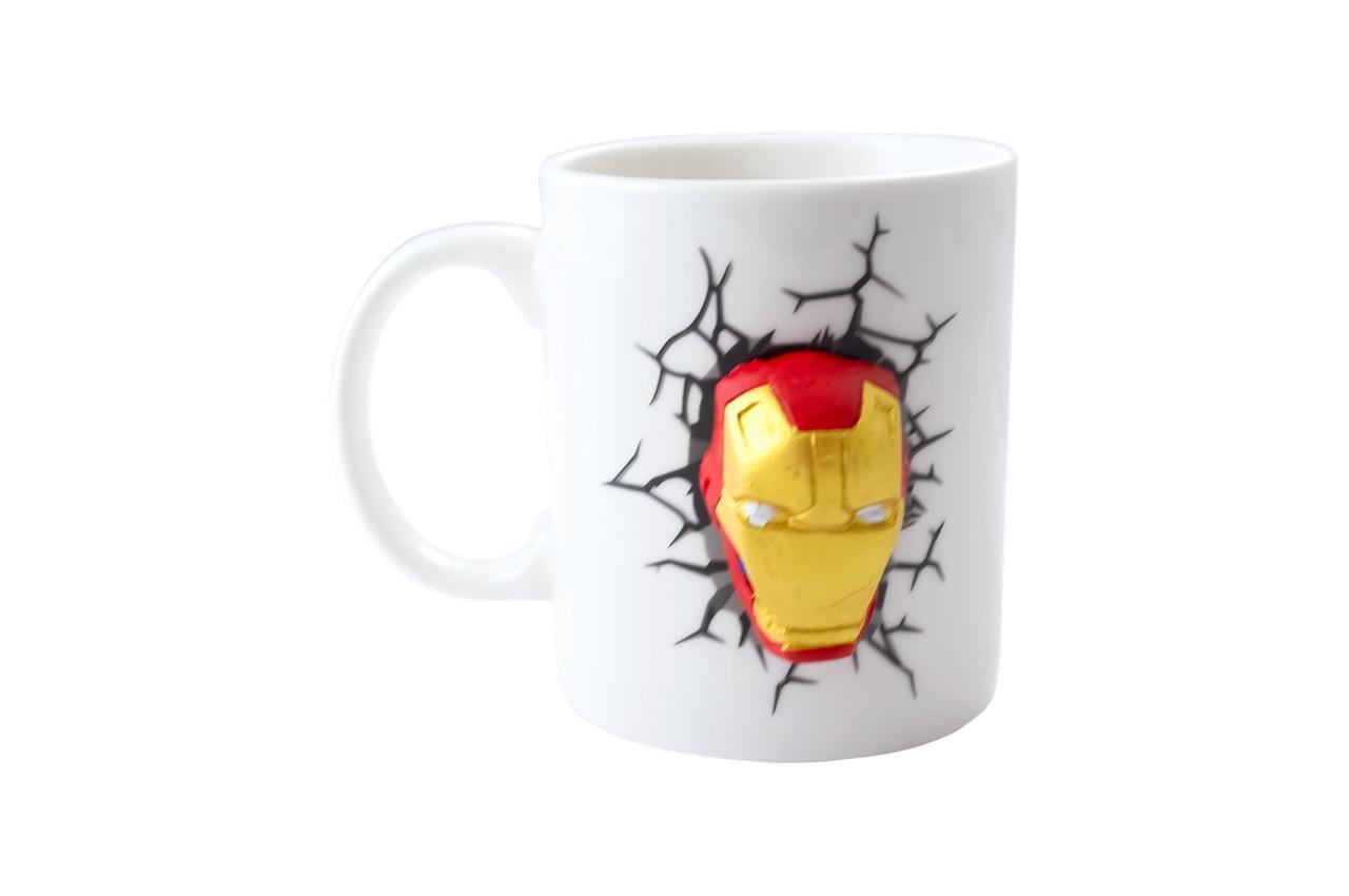Чашка керамическая Elite - 300 мл Iron Man 3D 1