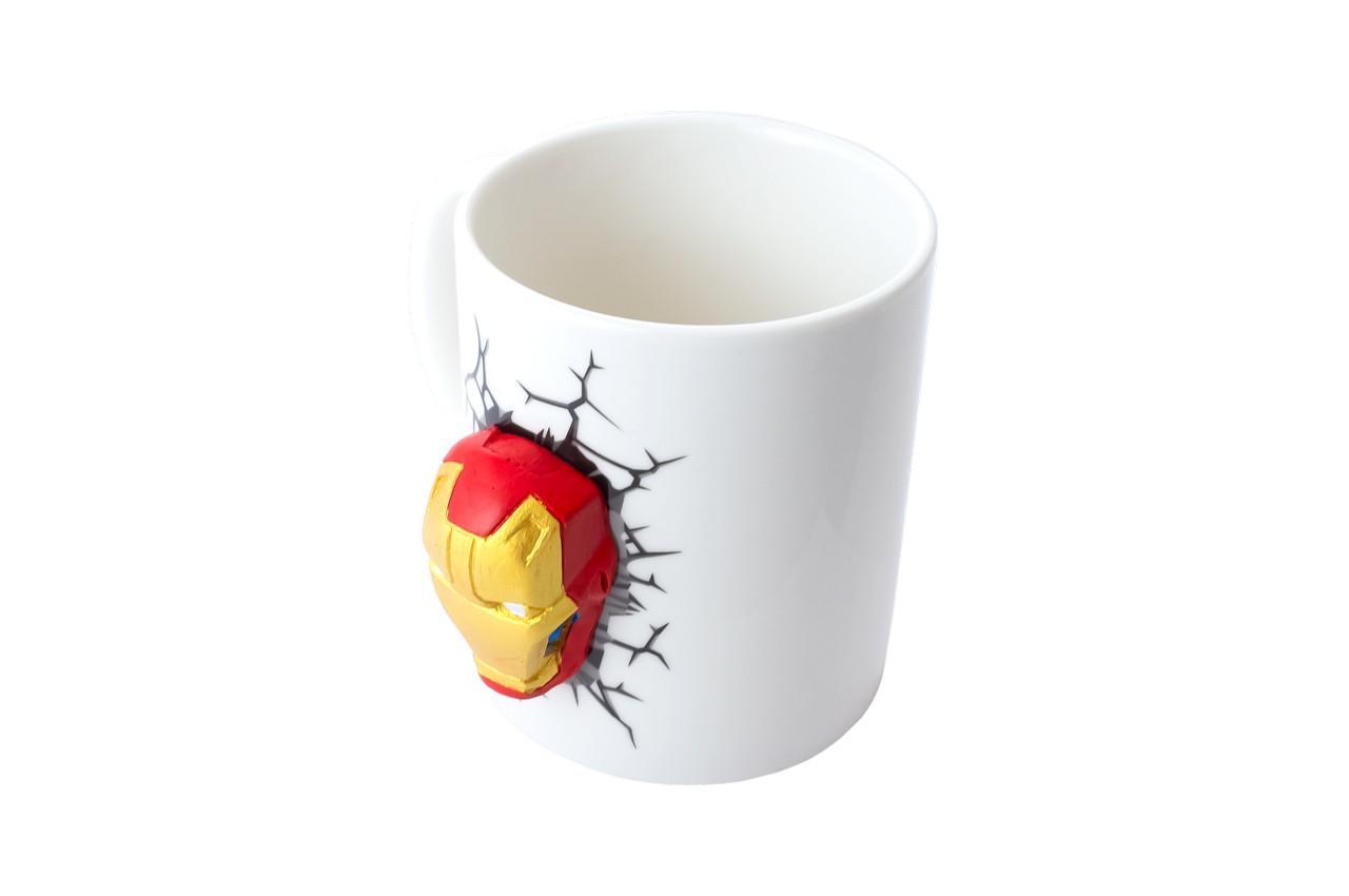 Чашка керамическая Elite - 300 мл Iron Man 3D 2