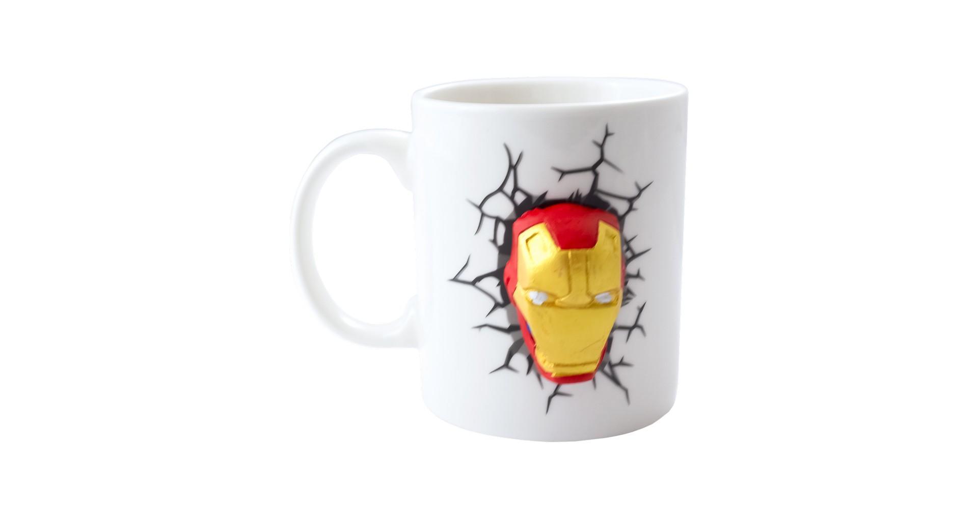 Чашка керамическая Elite - 300 мл Iron Man 3D 4