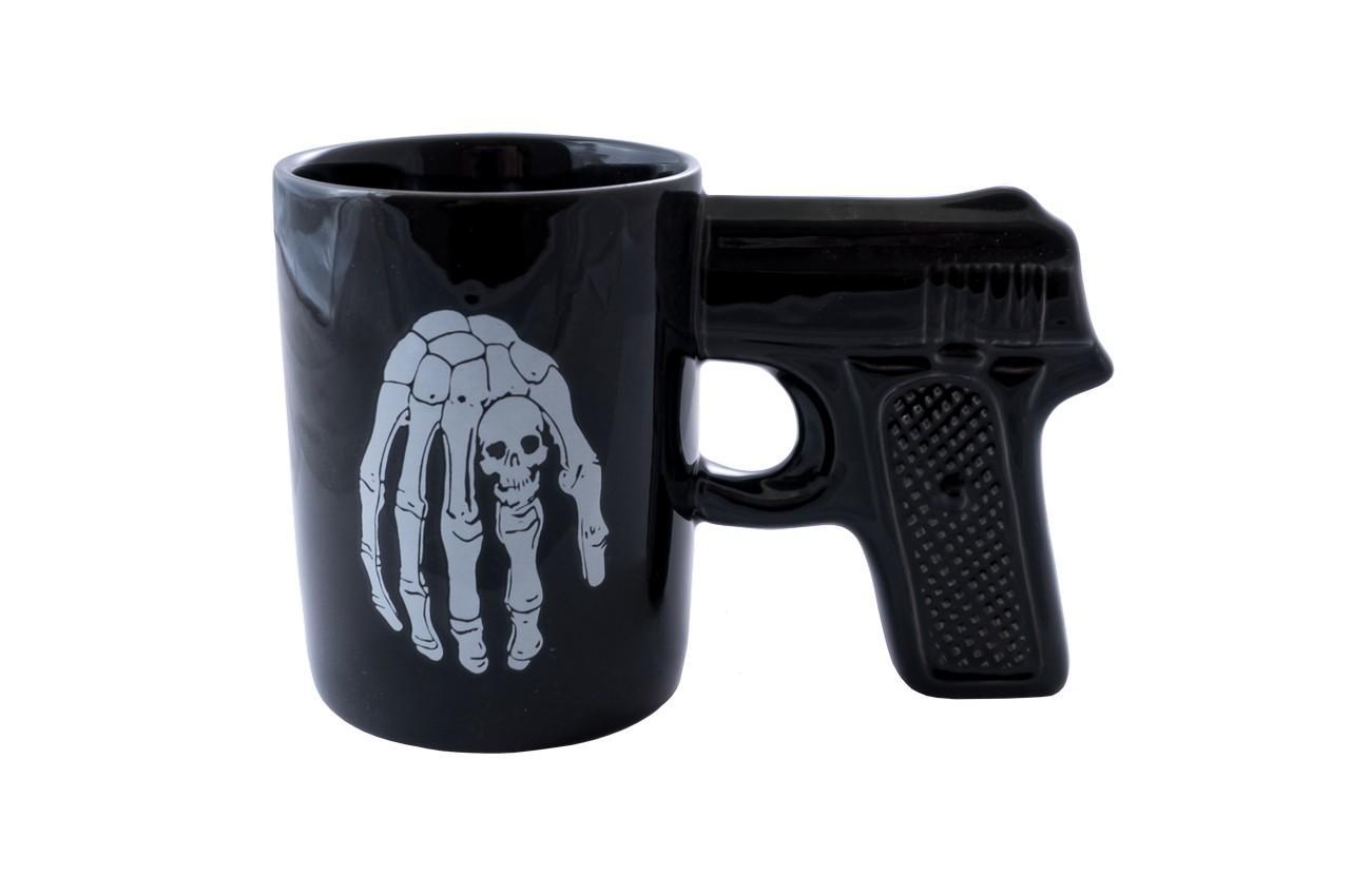 Чашка керамическая Elite - 400 мл пистолет 1