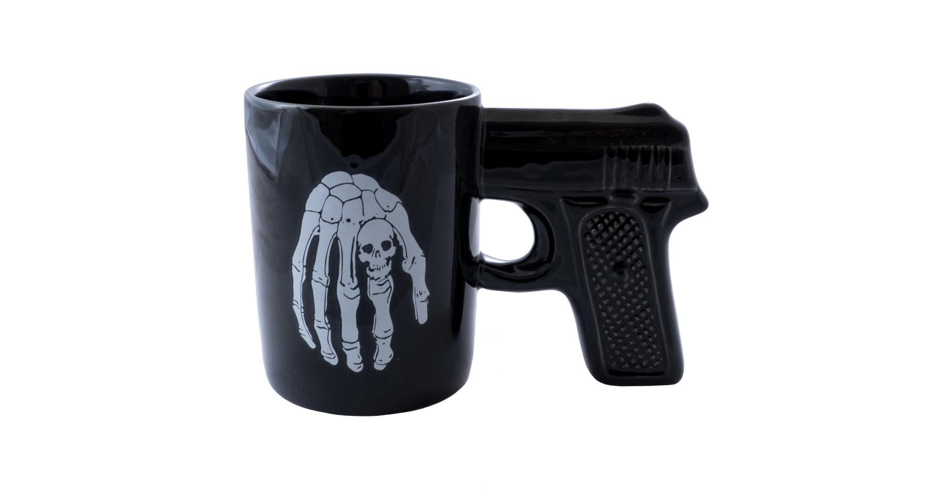 Чашка керамическая Elite - 400 мл пистолет 3