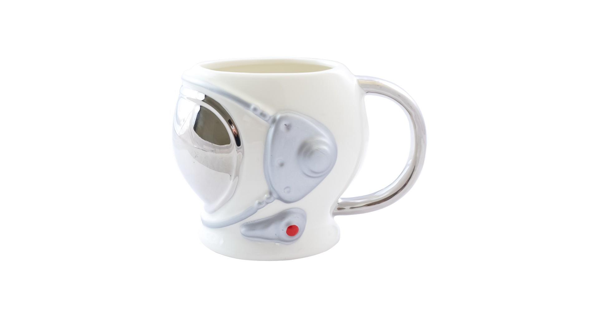 Чашка керамическая Elite - 550 мл Elon Musk белый 4