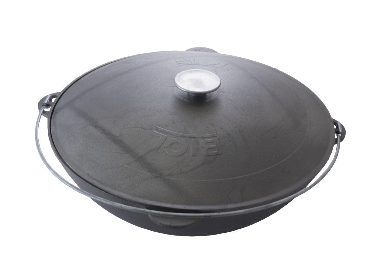 Казан чугунный Biol - 450 мм x 15 л татарский 2