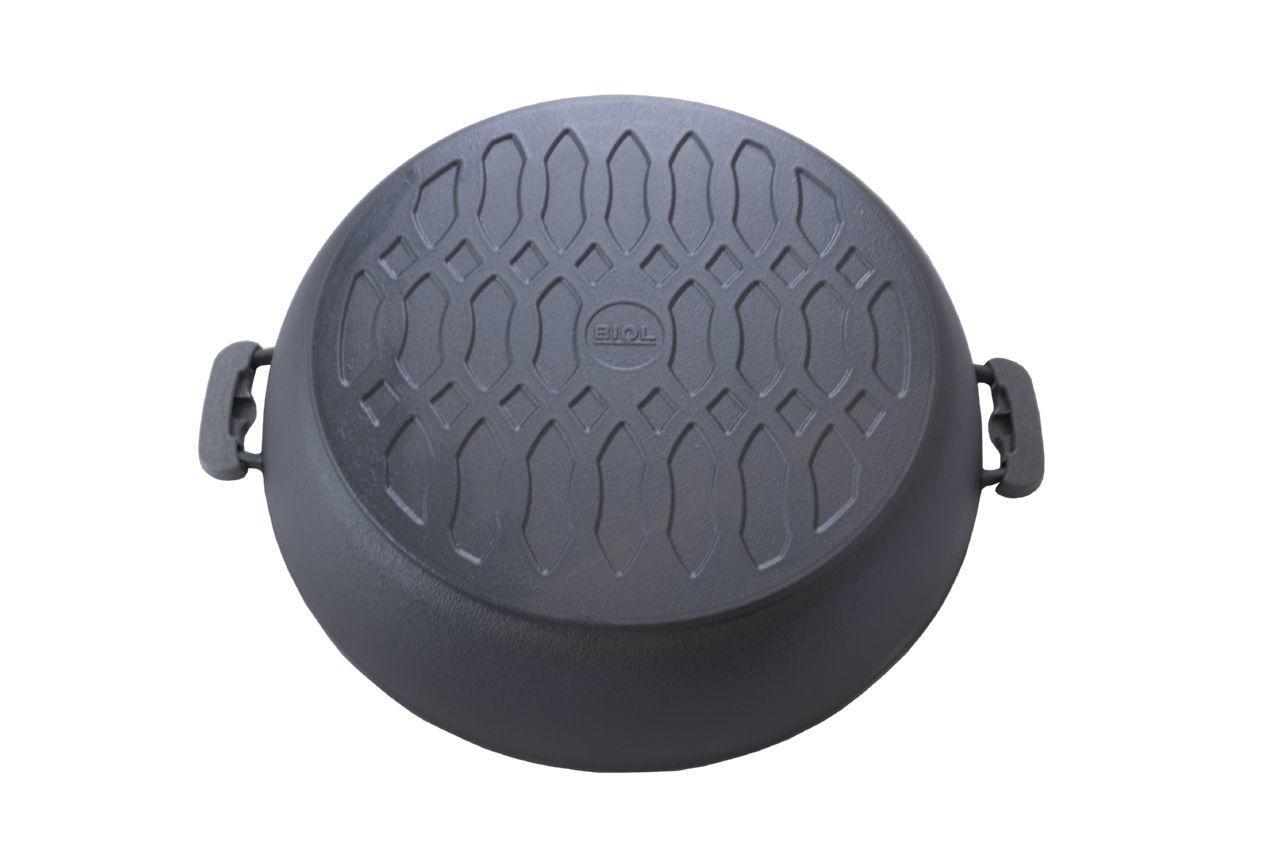 Сковорода жаровня чугунная Biol - 400 мм 2