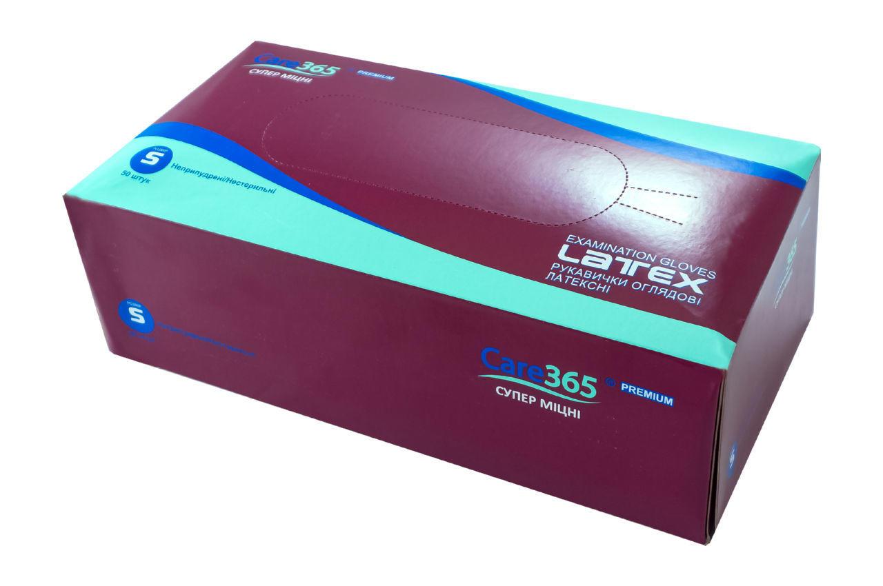 Перчатки амбулаторные - S (50перчаток) 2