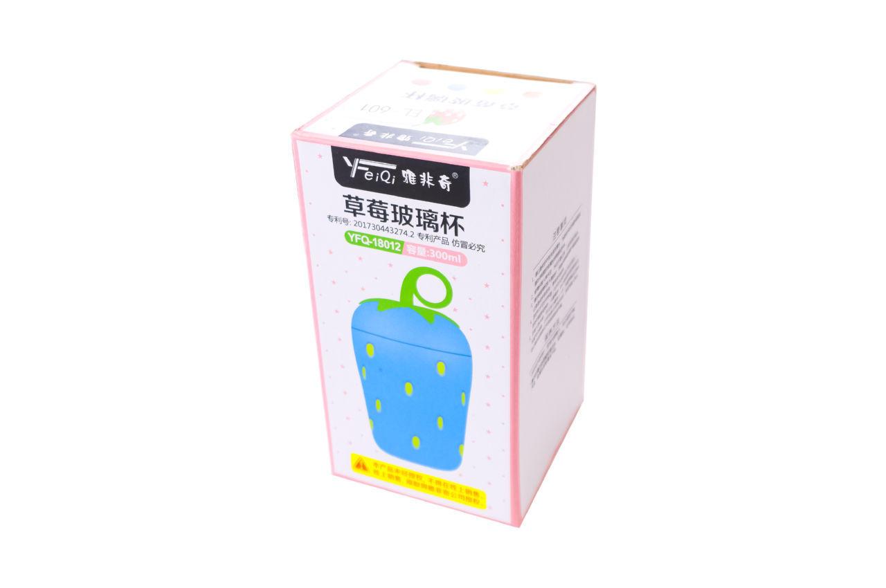 Бутылка для воды Elite - 300 мл клубника 4