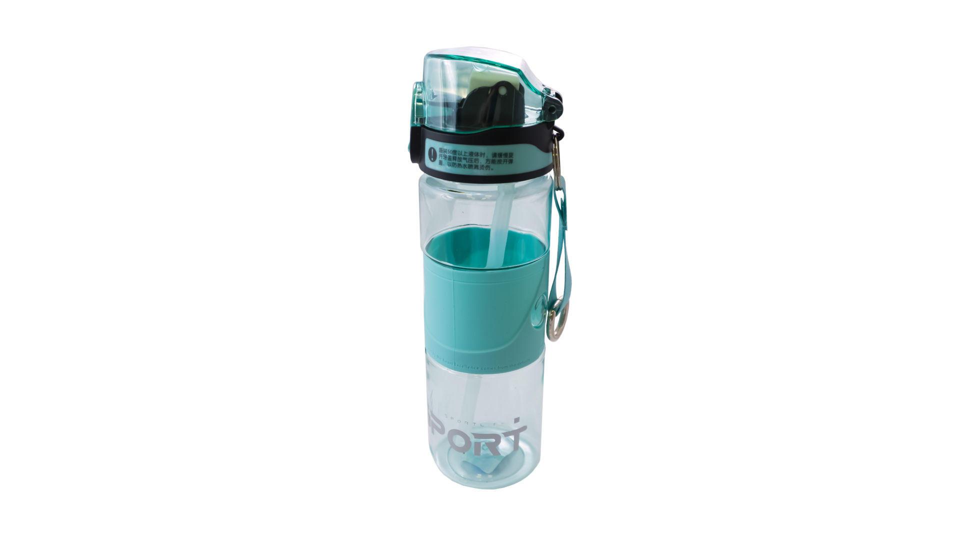 Бутылка для воды Elite - 600 мл Sport Life силикон 4