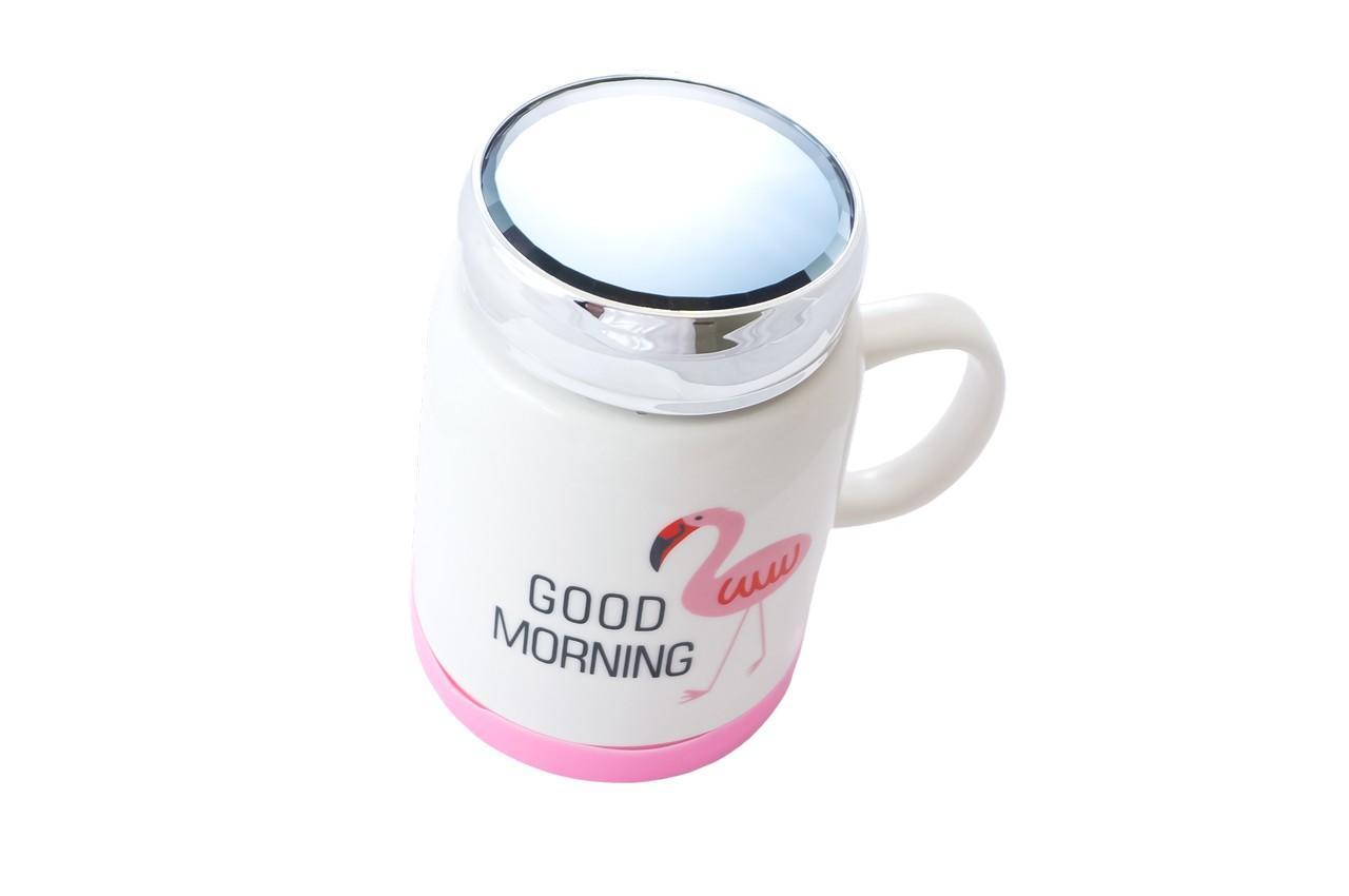 Чашка термос керамическая Elite - 500 мл EL-CY125 2
