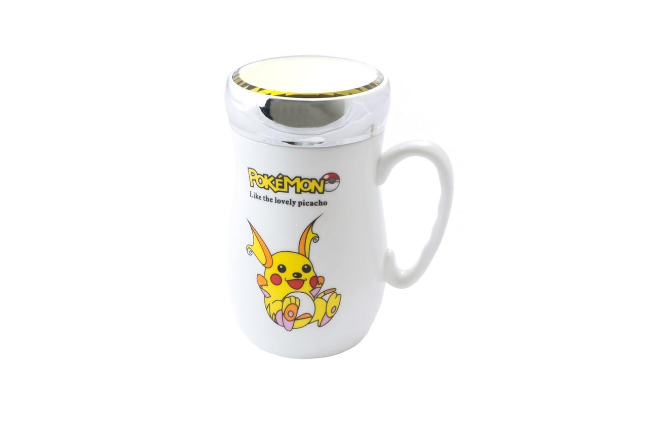 Чашка термос керамическая Elite - 420 мл 1