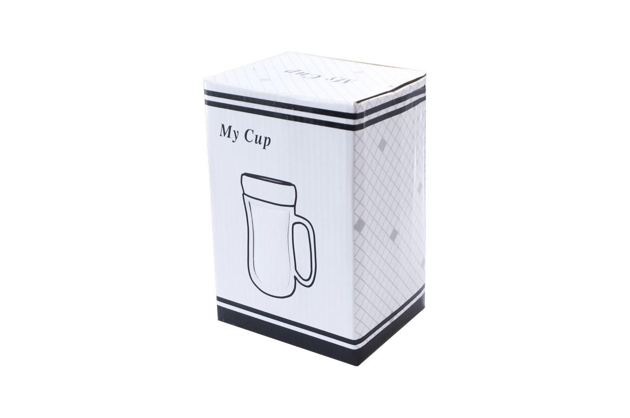Чашка термос керамическая Elite - 420 мл 5