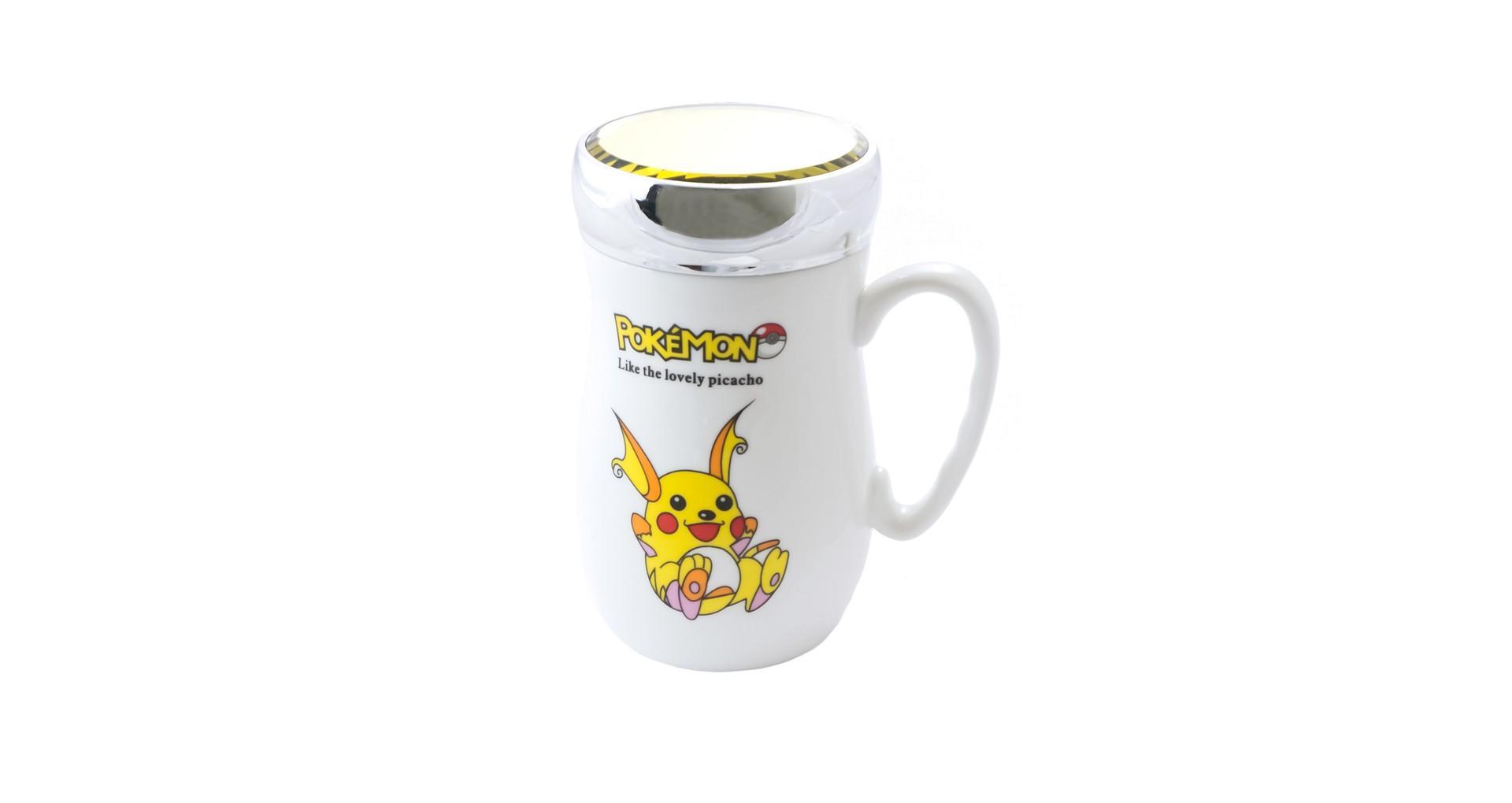 Чашка термос керамическая Elite - 420 мл 6