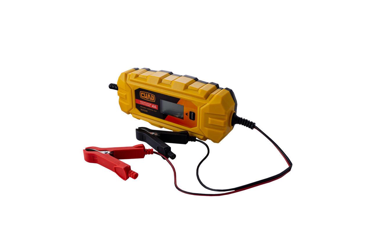 Зарядное устройство Сила - 4 А x 6 В - 12 В импульсное 1